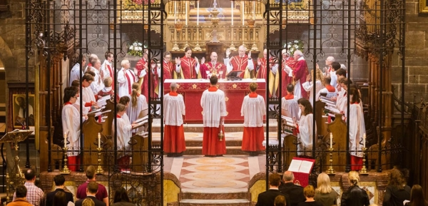 Services at Old Saint Paul's