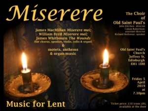 Misere, Music for Lent